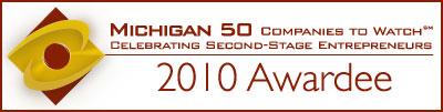 Michigan 50 Companies to Watch Winner